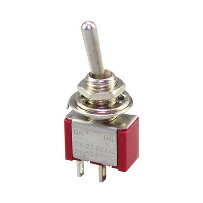 TOGGLE SWITCH ON / OFF SPST 3A