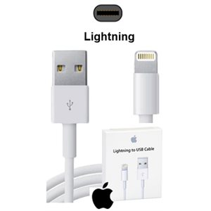(A1480)   CABLE LIGHTNING 1M ORIGINAL APPLE IPH5