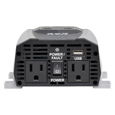 (8)   POWER INVERTER 400 / 800 WATTS 2.1A USB