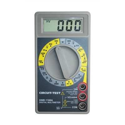 (10)   Multimeters Whit Continuity Buzzer