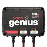 CHARGEUR GENIUS MINI 2 BANK   (12V @ 4A)
