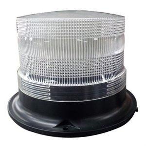 "Gyrophare 24VDC 100 LEDs 8"" x 8"" x 5-1 / 2"" Base magnetique."